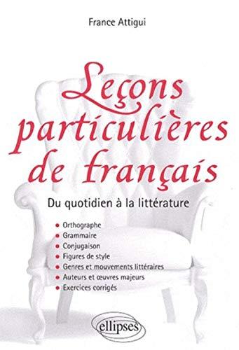 9782729841713: Le�on particuli�re de fran�ais