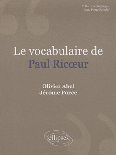 9782729841867: Le vocabulaire de Paul Ricoeur