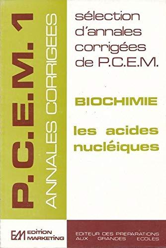 9782729843038: Biochimie acides nucléiques