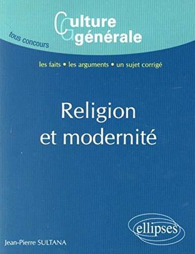 9782729843526: Religion & modernite