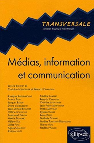 9782729843663: Medias Information & Communication