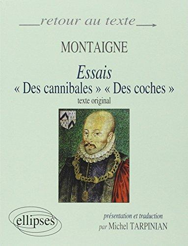 9782729844141: Montaigne, Essais (I,31 et III,6) : Edition bilingue