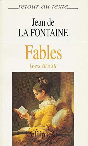 R.T.FABLES (7 A 12) (RETOUR AU TEXTE) (9782729846015) by LA-FONTAINE