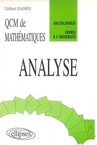 9782729846091: QCM de Mathématiques : Analyse