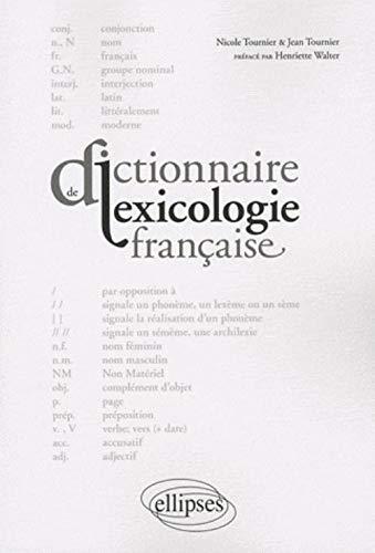 9782729850555: Dictionnaire de lexicologie française (French Edition)