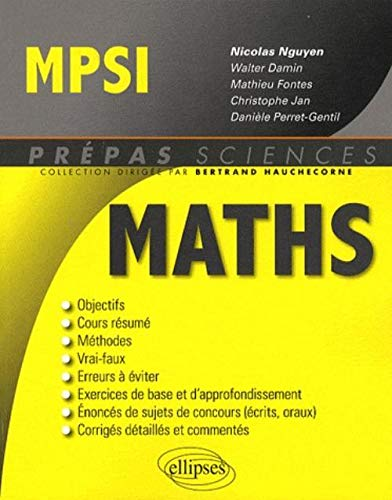 9782729851118: Maths MPSI