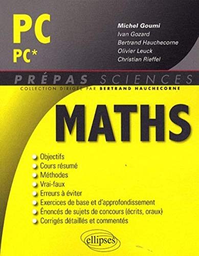 9782729851187: Maths PC-PC*