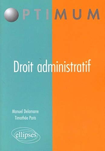 9782729851699: Droit administratif (French Edition)