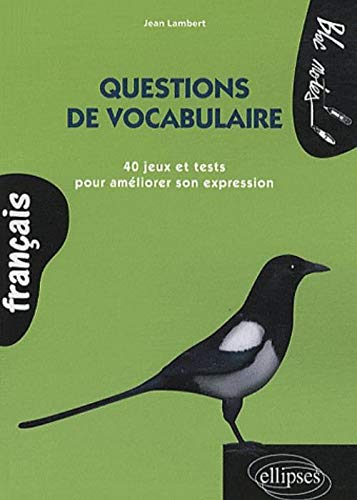 9782729852177: Questions de vocabulaire (French Edition)