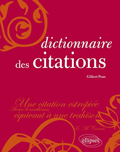 9782729854133: Dictionnaire des citations