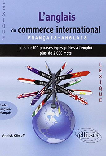 9782729854560: L'anglais du commerce international