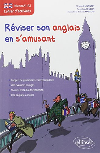9782729856540: Anglais cahier d'activit�s pour r�viser son anglais en s'amusant niveau a1-a2