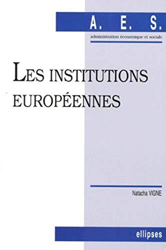 9782729857684: Les institutions européennes (Aes)