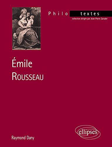 9782729858438: Émile, Rousseau