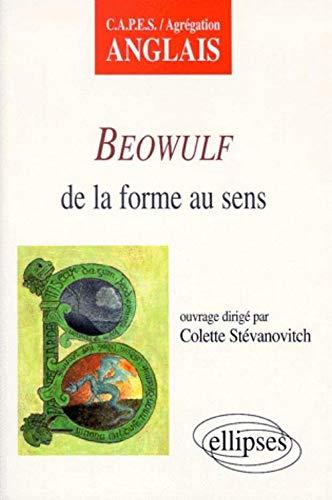 9782729858698: Beowulf de la forme au sens