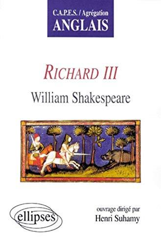 9782729859459: Richard III, de William Shakespeare
