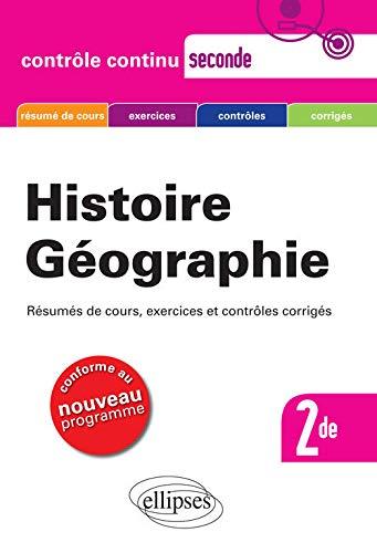 9782729860325: Histoire géographie sde nouveau programme