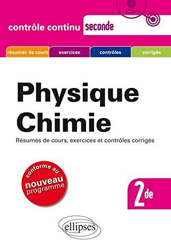 Physique Chimie Seconde Nouveau Programme: Jean-Luc Beaumont