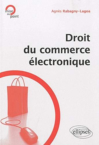 9782729863258: Droit du Commerce Electronique