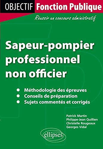 9782729863692: Sapeur Pompier Professionnel Non Officier