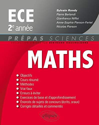 9782729866242: Mathématiques ECE 2e année