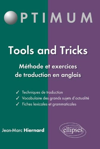 9782729866990: Tools & Tricks Méthode & Exercices de la Traduction en Anglais