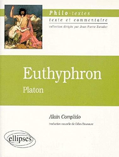 9782729867119: Euthyphron, Platon
