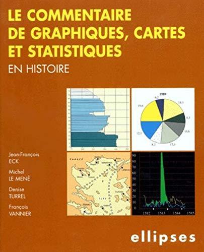 9782729867324: Le commentaire de graphiques, cartes et statistiques en Histoire
