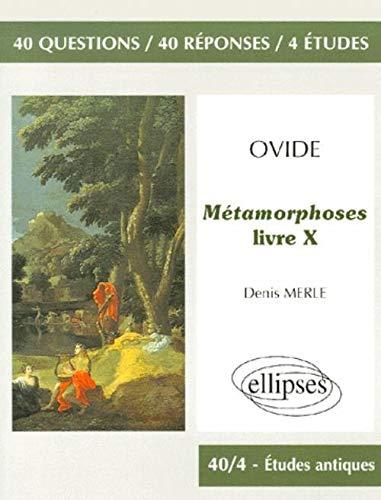 9782729869014: Ovide, Métamorphoses (Livre X), Ovide