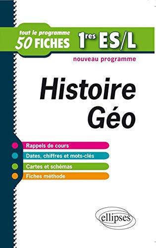 9782729871758: histoire geographie premiere es & l fiches de revision