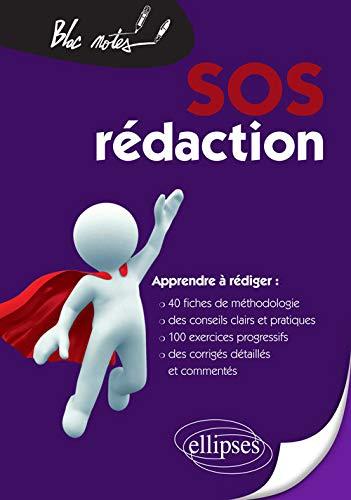 9782729872205: sos redaction 40 fiches de methodologie de conseils & d'entrainement apprendre a redigier 2eme edit.