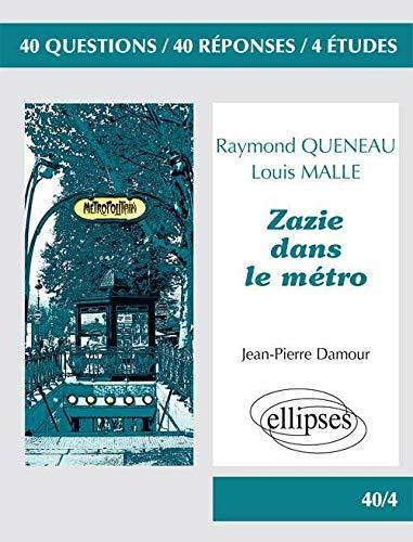 9782729874339: Zazie Dans le M�tro Raymond Queneau & Louis Malle