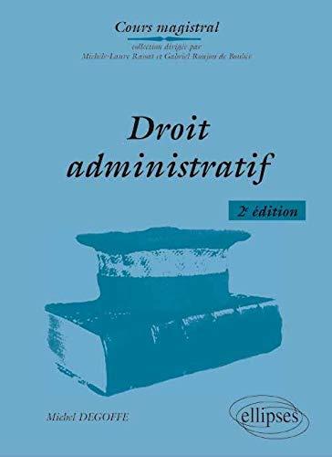 9782729875954: Cours Magistral de Droit Administratif