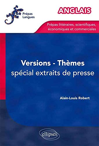 9782729877200: Anglais Themes Versions Entrainement Special Extraits Presse