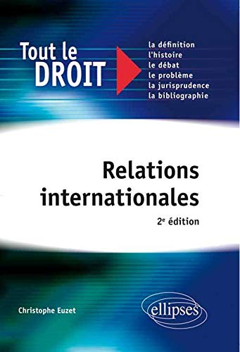 9782729877347: Relations Internationales