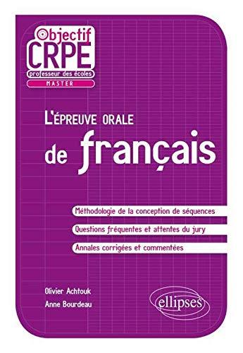 9782729878788: L'Épreuve Orale de Français