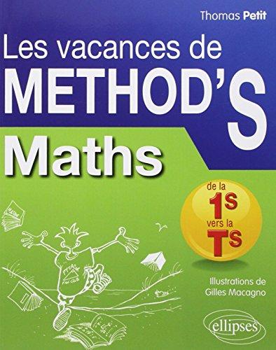 9782729880477: Mathematiques de la Premiere S a la Terminale S les Vacances de Method'S