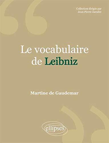 9782729880903: Le Vocabulaire de Leibniz
