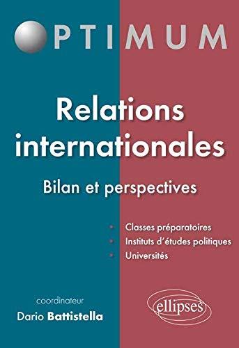 9782729881030: Relations Internationales Bilan et Perspectives