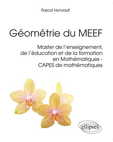 9782729884901: Géometrie du MEEF Master de l'Enseignement de l'Éducation et de la Formation en Mathématiques CAPES