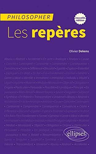 9782729890933: Philosopher les Repères