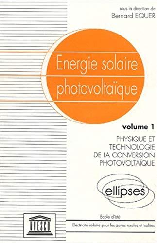 9782729893453: Energie solaire photovoltaïque