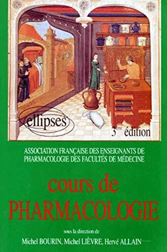 9782729893866: Cours de pharmacologie