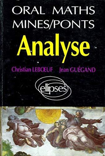 Analyse: Leboeuf, Christian ; Guégand, Jean