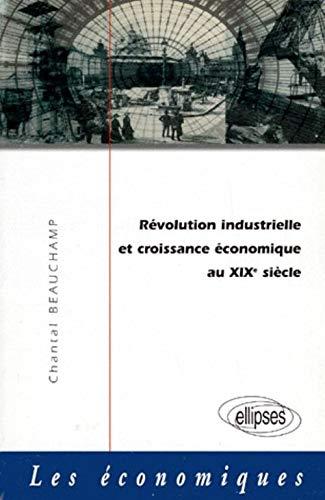 9782729897185: Révolution industrielle et croissance économique au XIXe siècle