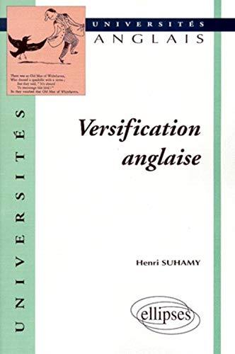 9782729899431: Versification anglaise