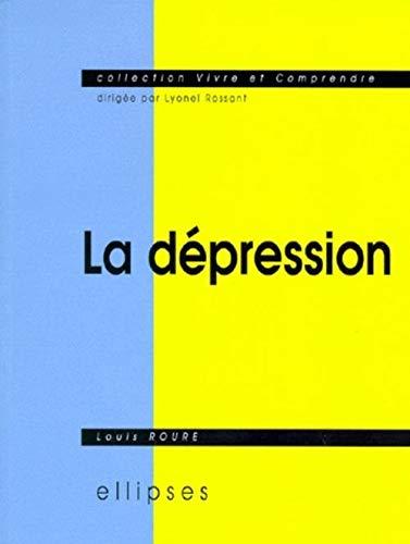 9782729899943: La Dépression: Sémiologie, psychologie, environnement, aspects légaux, traitement