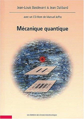 9782730208192: Mécanique quantique (1Livre + 1 CD)