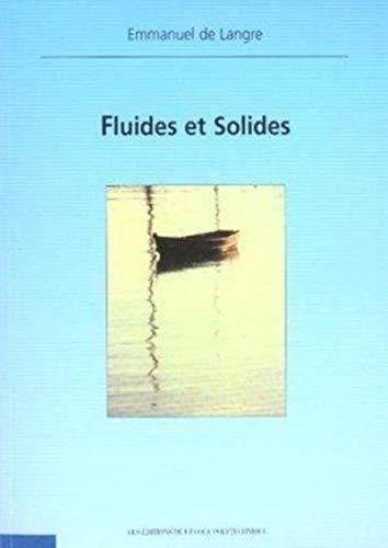 9782730208338: Fluides et solides