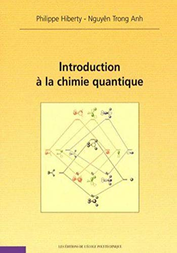 9782730214858: Introduction à la chimie quantique